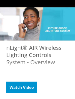 nLight® AIR Wireless Lighting Controls System - Overview