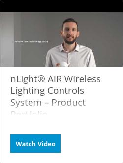 nLight® AIR Wireless Lighting Controls System – Product Portfolio