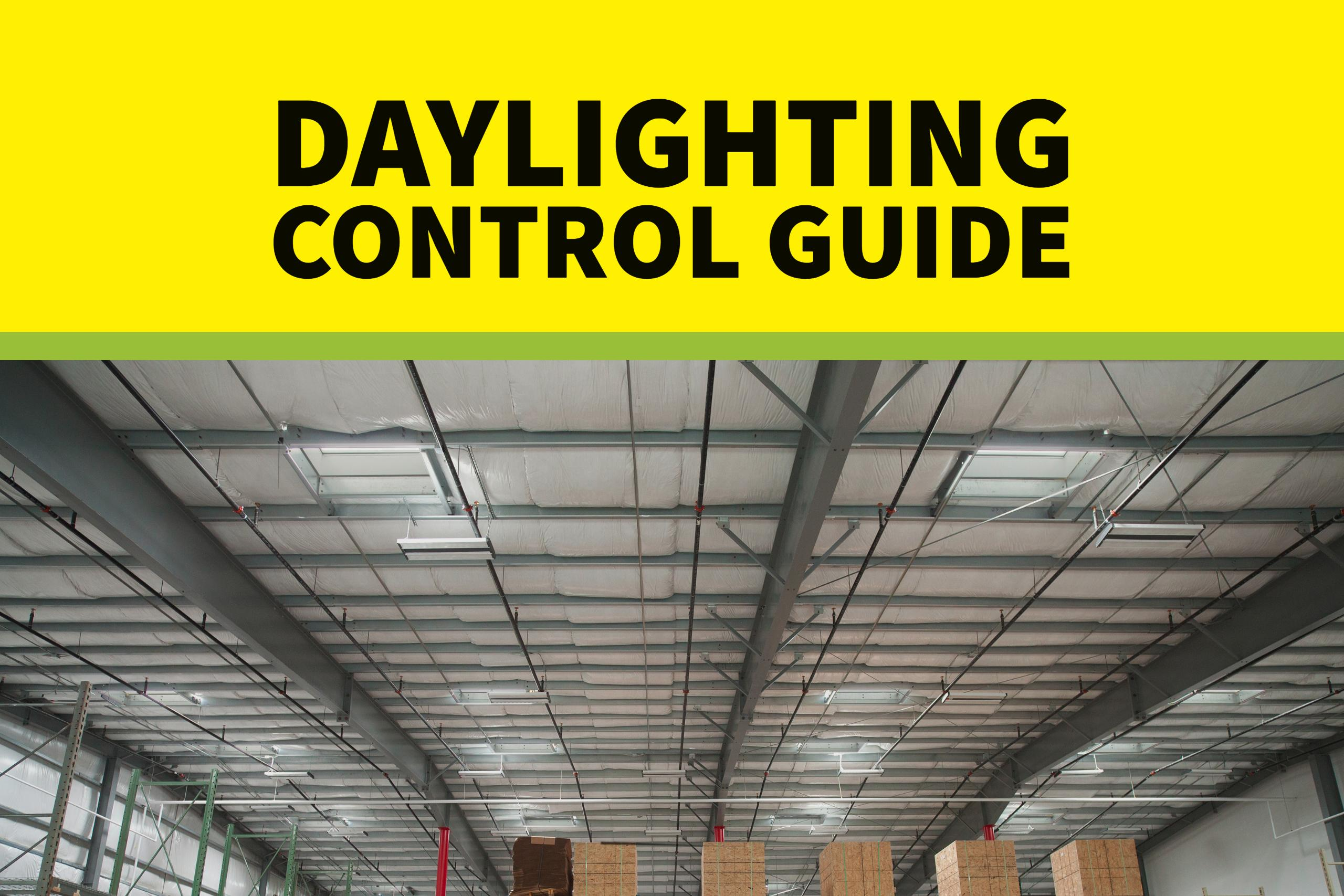 Daylighting Control Guide Application Guide