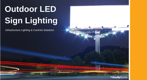 Outdoor LED Billboard Lighting Application Guide