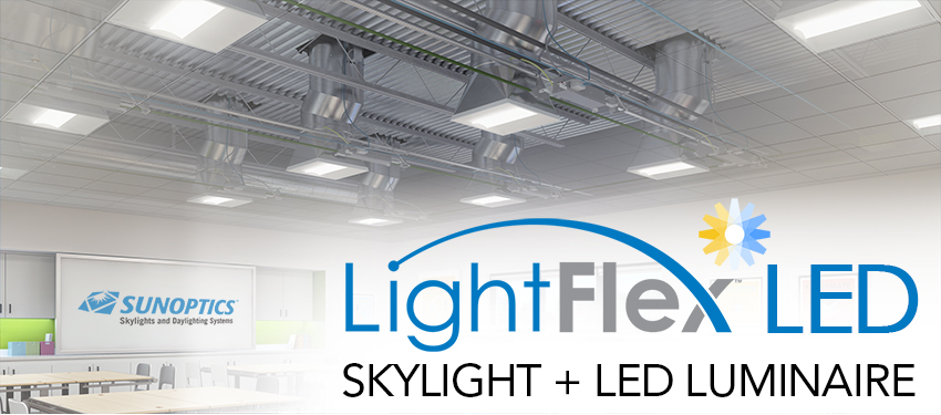 LightFlex LED Tubular Daylighting System