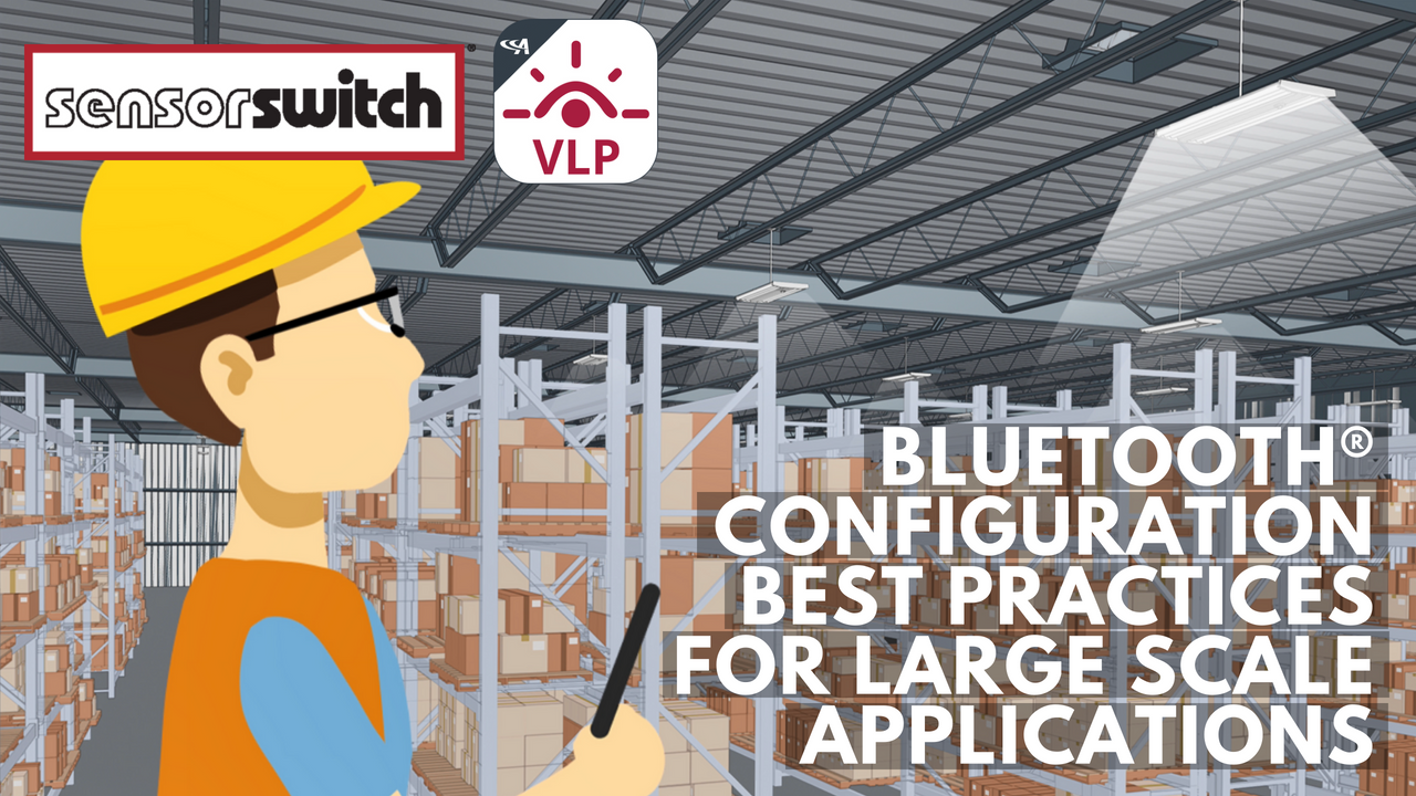 Bluetooth Configuration Best Practices for Large Scale Applications