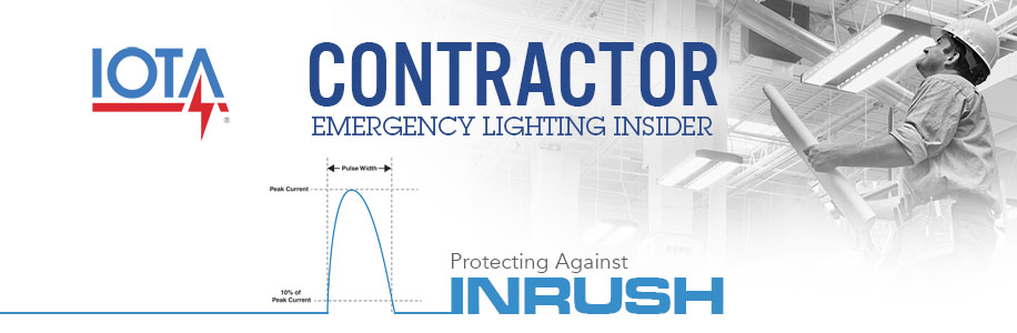 Contractor Emergency Lighting Insider Inrush Protection