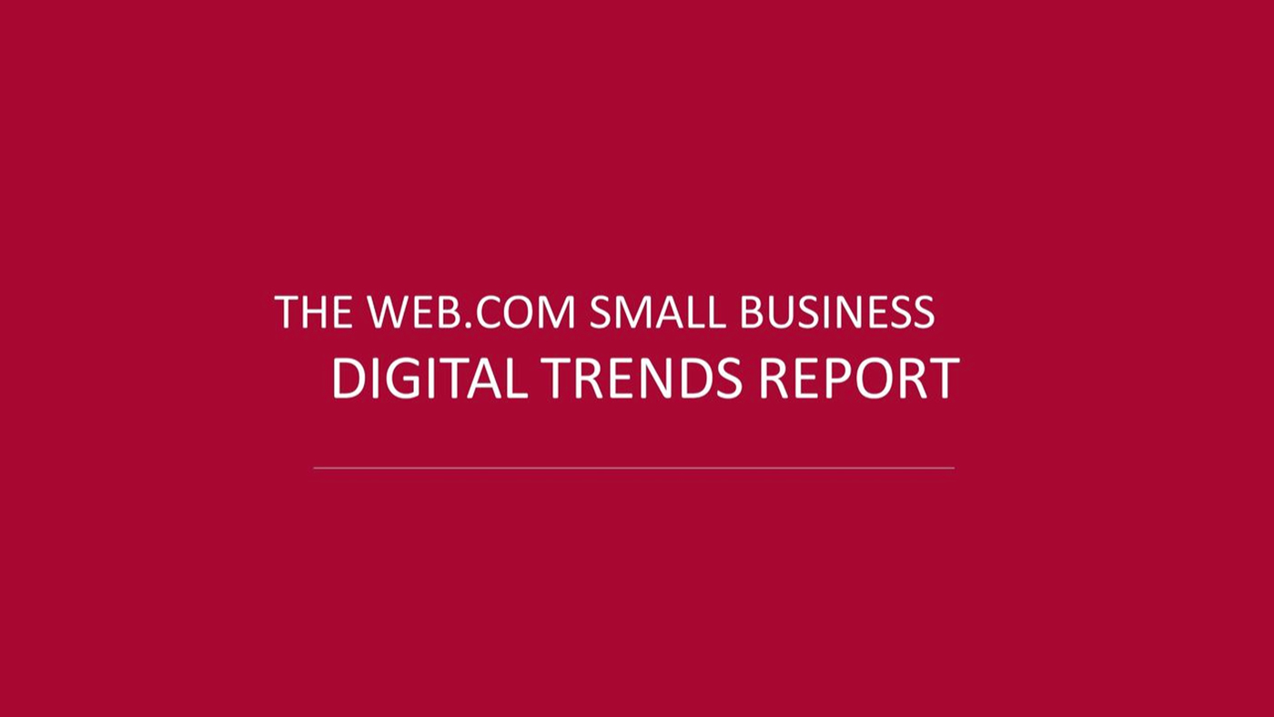 Small Business Digital Trends Report