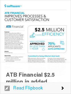 ATB Financial $2.5 million in added efficiency