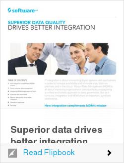 Superior data drives better integration
