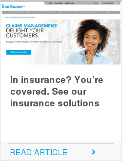 In insurance? You're covered. See our insurance solutions