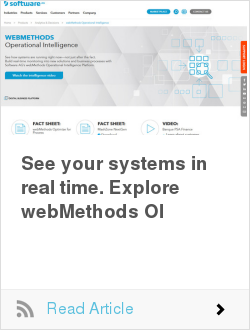 See your systems in real time. Explore webMethods OI