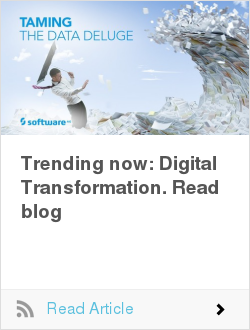 Trending now: Digital Transformation. Read blog