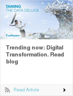 Trending now: Digital Transformation. Read blog