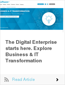The Digital Enterprise starts here. Explore Business & IT Transformation