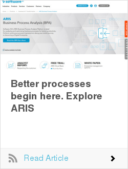 Better processes begin here. Explore ARIS
