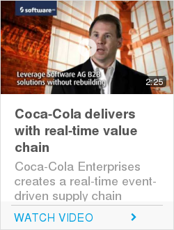 Coca-Cola delivers with real-time value chain