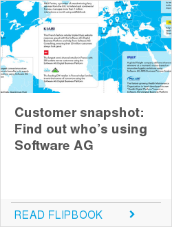 Customer snapshot: Find out who's using Software AG
