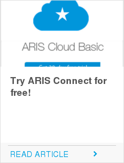 Try ARIS Connect for free!