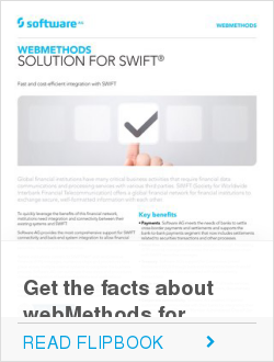 Get the facts about webMethods for SWIFT®