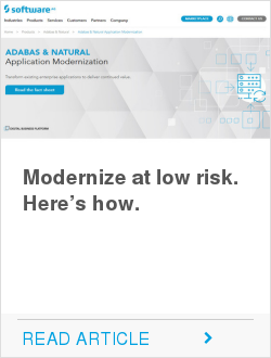 Modernize at low risk. Here's how.