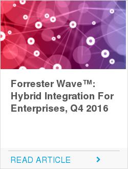 Forrester Wave™: Hybrid Integration For Enterprises, Q4 2016