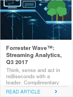 Forrester Wave™: Streaming Analytics, Q3 2017