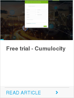 Free trial - Cumulocity
