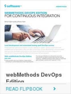 webMethods DevOps Edition