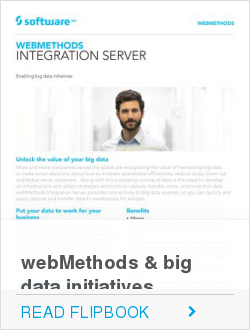 webMethods & big data initiatives