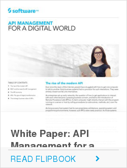 White Paper: API Management for a Digital World