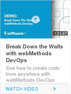Break Down the Walls with webMethods DevOps