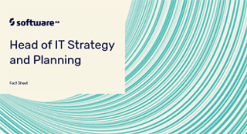 Head of IT Strategy & Planning: Are IT road maps leading to success?