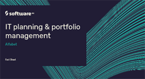 Alfabet IT Planning & Portfolio Management