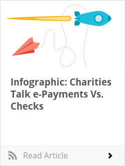 Infographic: Charities Talk e-Payments Vs. Checks