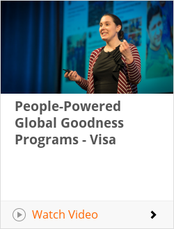 People-Powered Global Goodness Programs - Visa
