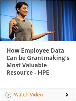 How Employee Data Can be Grantmaking's Most Valuable Resource - HPE