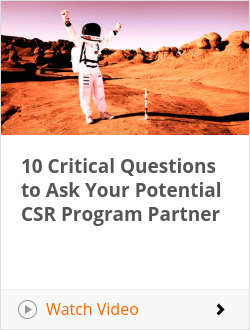 10 Critical Questions to Ask Your Potential CSR Program Partner