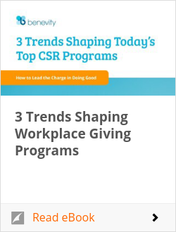 3 Trends Shaping Workplace Giving Programs