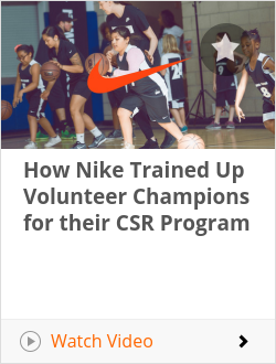 How Nike Trained Up Volunteer Champions for their CSR Program