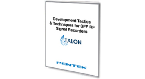 Development Tactics and Techniques for Small Form Factor RF Signal Recorders