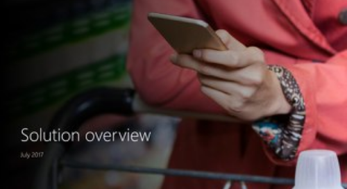 Solution Overview: Dynamics 365 for Retail