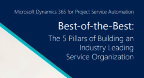 Best-of-the-Best: The 5 Pillars of Building an Industry Leading Service Organization