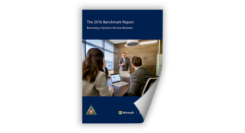 2016 Benchmark Report: Becoming a Dynamic Services Business