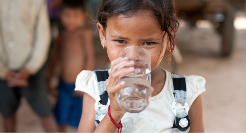Charity Water: A non-profit organization bringing clean and safe drinking water to people in developing nations