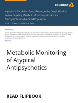 Metabolic Monitoring of Atypical Antipsychotics
