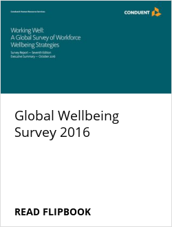 Global Wellbeing Survey 2016