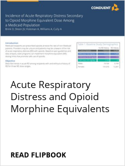 Acute Respiratory Distress and Opioid Morphine Equivalents