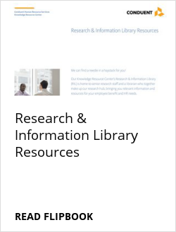Research & Information Library Resources