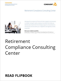 Retirement Compliance Consulting Center