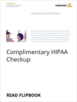 Complimentary HIPAA Checkup