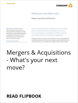 Mergers & Acquisitions - What's your next move?