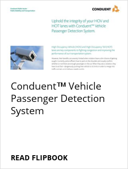 Conduent™ Vehicle Passenger Detection System