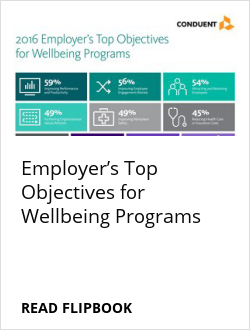 Employer's Top Objectives for Wellbeing Programs